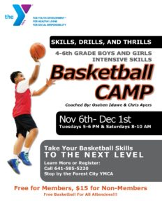 Basketball Camp-Middle School