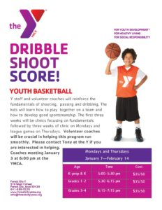Youth Basketball flyer